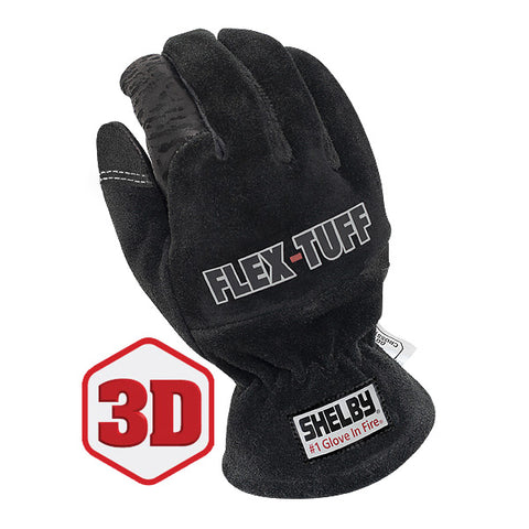 SHELBY FLEX-TUFF STRUCTURAL FIRE FIGHTING GLOVES - 5292B