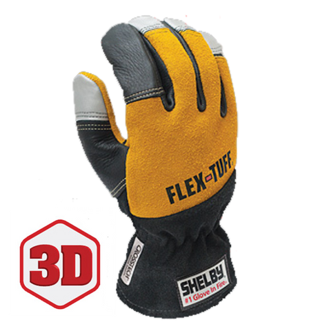 SHELBY FLEX-TUFF STRUCTURAL FIRE FIGHTING GLOVES - 5292