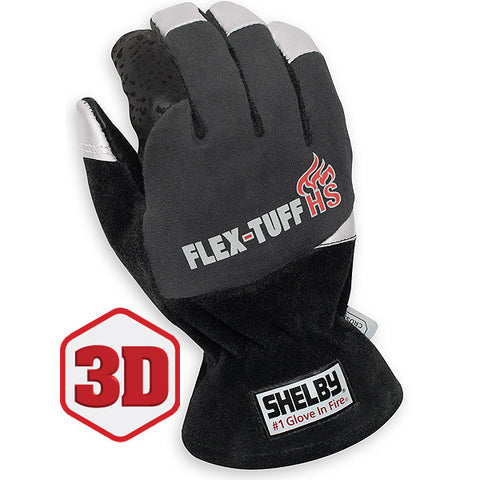 SHELBY FLEX-TUFF HS STRUCTURAL FIRE FIGHTING GLOVES - 5294