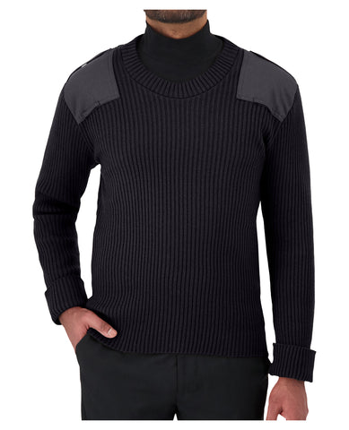 "COBMEX 8083 Crew Neck Rib ""Commando"" Sweater"