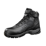 BATTLE-OPS 6-INCH WATERPROOF BLACK TACTICAL BOOT - SIDE ZIP & COMP SAFETY TOE