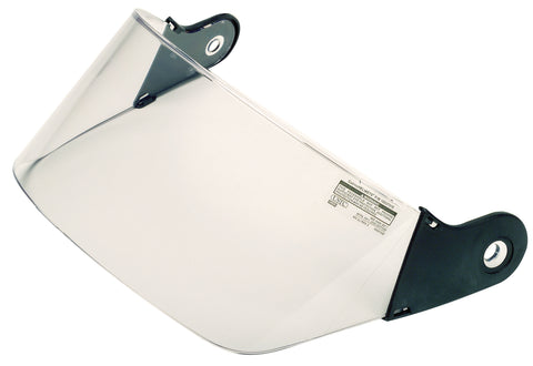 "CAIRNS HELMET 4"" VISOR/SHIELD - POLYCARBONATE"