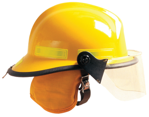 DEFENDER® VISOR WITH CAIRNS 660C METRO AND INVADER 664 FIRE HELMETS