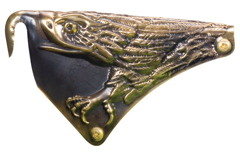 "CAIRNS FRONT HOLDER - 6"" CARVED EAGLE"