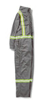 RASCO FR Premium Coverall with Reflective Trim - Grey