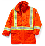 RASCO FR HI VIS INSULATED PARKA JACKET