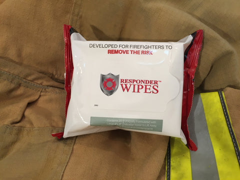 "RESPONDER WIPES - LT'S  Wipes 8"" x 8"" (20 wipe pouch)"