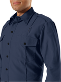 WORKRITE MEN'S CLASSIC LONG SLEEVE FIRE CHIEF SHIRT