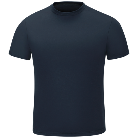 WORKRITE MEN'S SHORT SLEEVE STATION WEAR TEE
