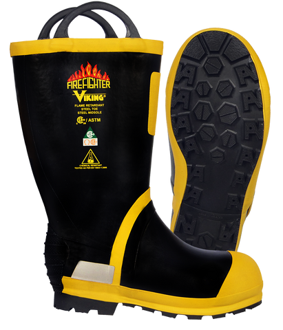 "VIKING FIREFIGHTER® 14"" FELT LINED BOOTS"