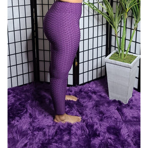 Enhance the Curve Leggings - Purple