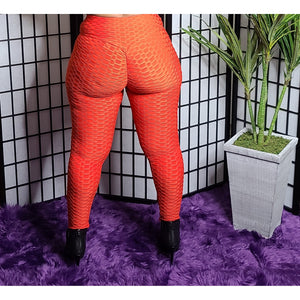 Enhance the Curve Leggings - Red