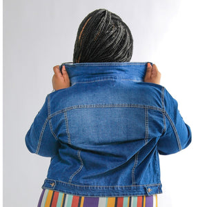 Bonnie ꟾ Curvy Denim Jacket