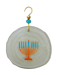 Ornament - Gold Menorah