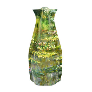 Modgy Expandable Vase - Claude Monet Waterlilies
