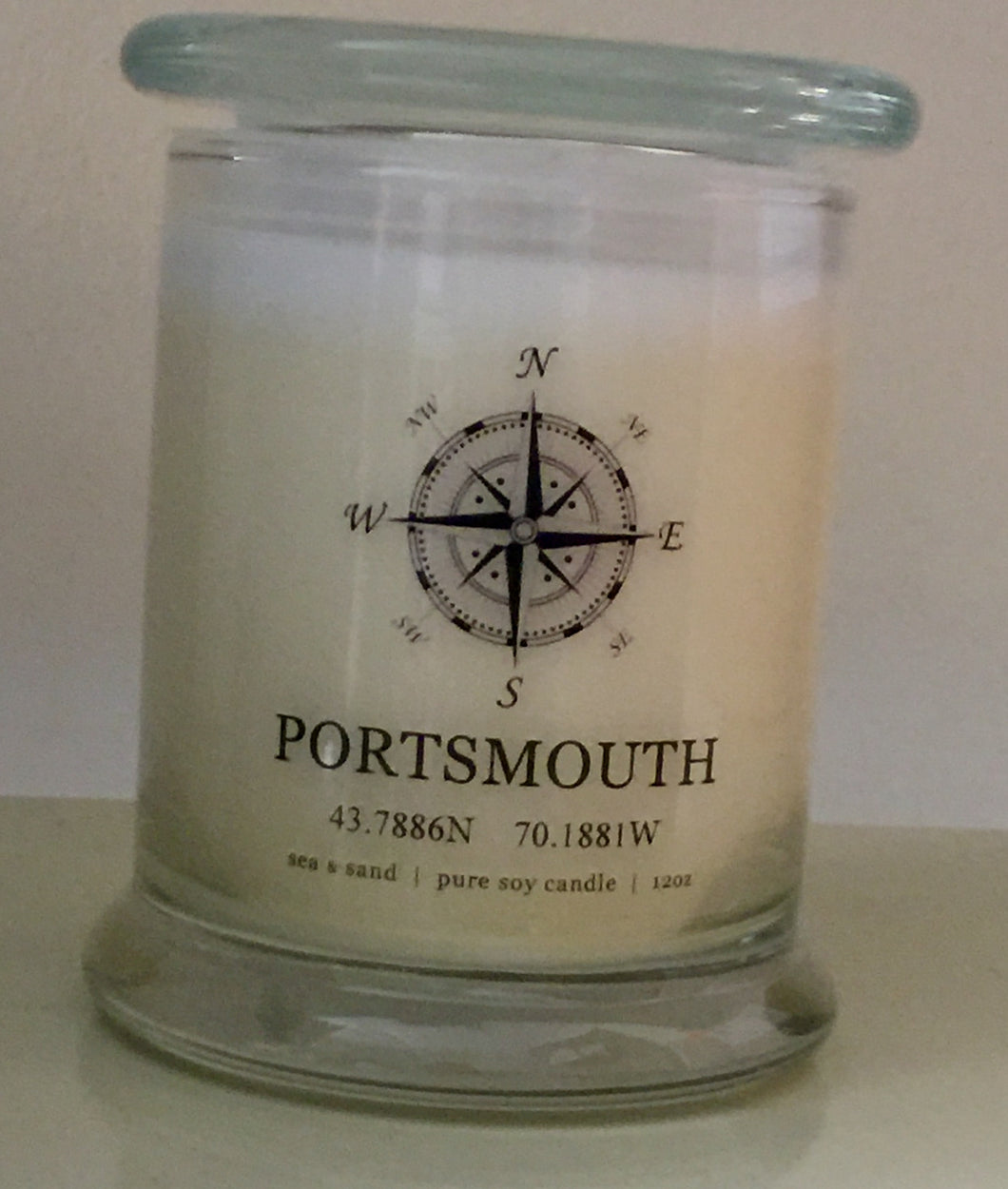 Entering Portsmouth Candle