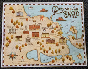 PORTSMOUTH HOUSE MAP