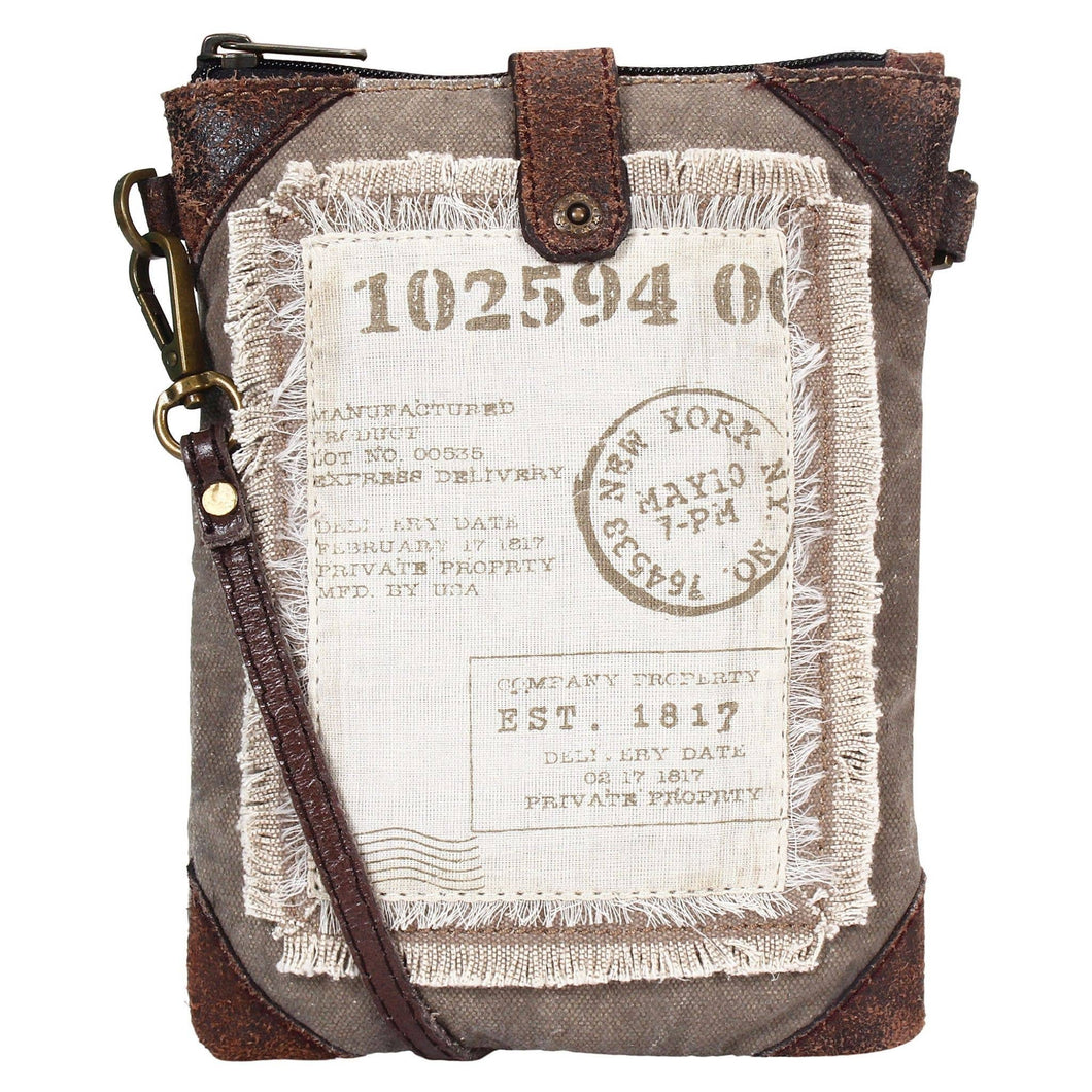 Atlas Up-Cycled Canvas Small Crossbody