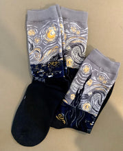 Load image into Gallery viewer, Starry Night Socks