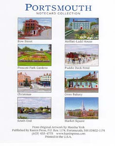 Portsmouth Collection Box of assorted notecards