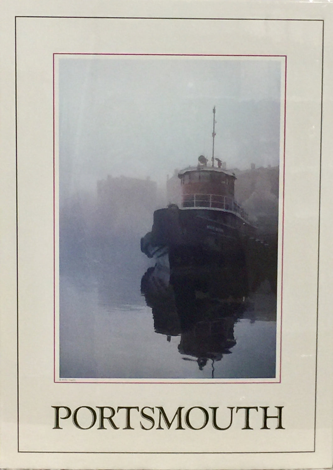 Classic Portsmouth Tugboat Poster