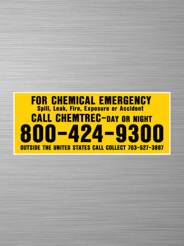 Chemtrec - Chemical Emergency - United States