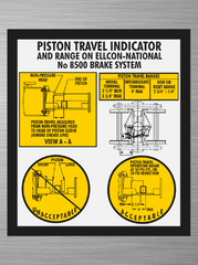 Piston Travel Decal -  Ellcon National