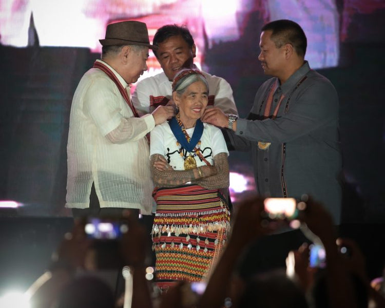 Century Old Kalinga Tattoo Master Whang-Od Oggay Conferred NCCA Award