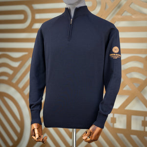 Zip Jumper (Navy)