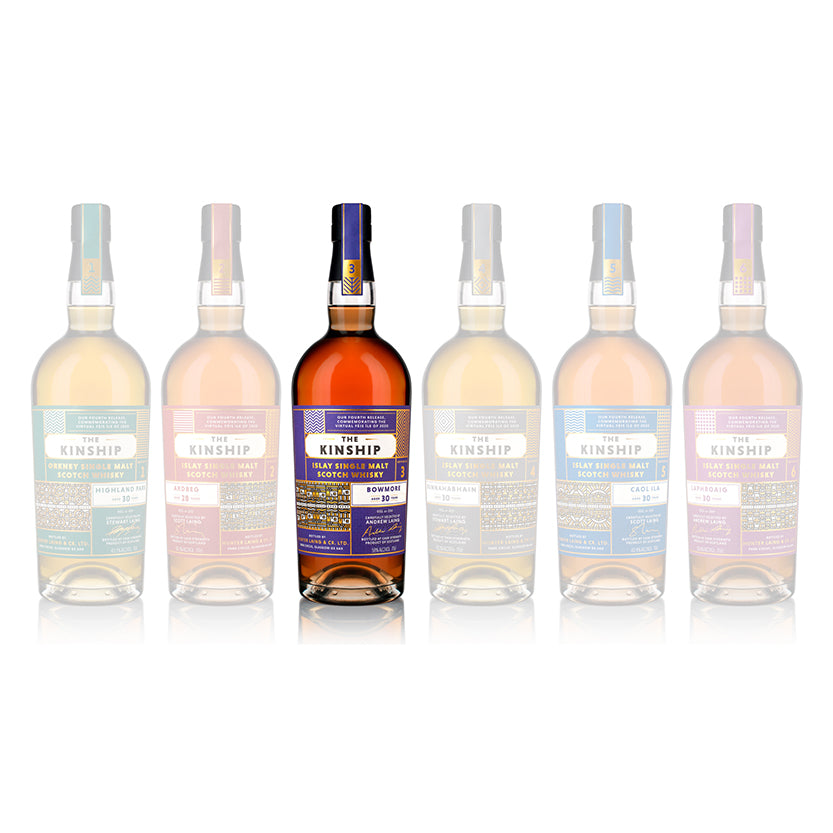 Bowmore (2020 release, aged 30 years) *only available as a full set