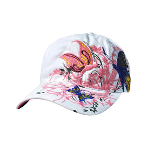 Baseball Cap Women Ladies Butterfly Hat Sun Hats Baseball Cap Women Hats#30