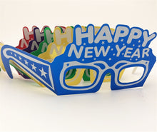 Load image into Gallery viewer, Happy New Year Eyeglasses, Assorted colors