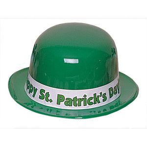 St. Patrick's Day Plastic Derby - 50/Box