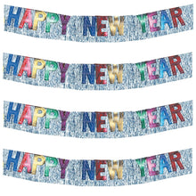 Load image into Gallery viewer, Happy New Year Metallic Banner - 1 Each