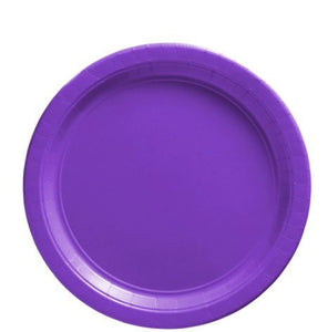 "Solid Color 7"" Plates"