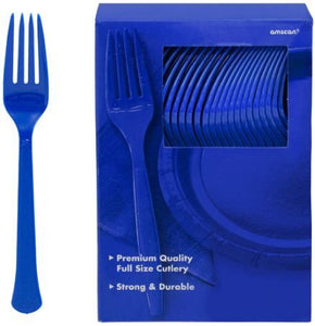 Solid Color Plasticware