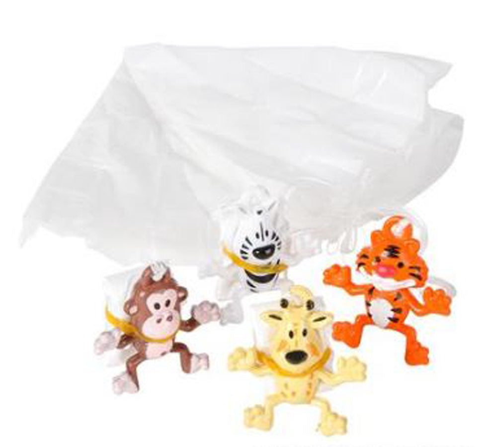 Zoo Animal Paratrooper Assortment
