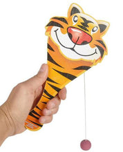 "Load image into Gallery viewer, Zoo Animal Paddle Ball, 9"" Assorted"
