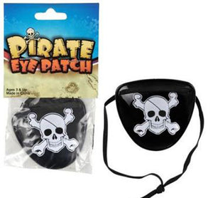 "Pirate Eye Patch, 3"" Plastic Toy"