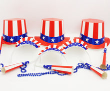 Load image into Gallery viewer, Patriotic Party Kit for 50