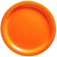"Load image into Gallery viewer, Solid Colors  9"" Dinner Plates - 300/Case or 50/Pack"