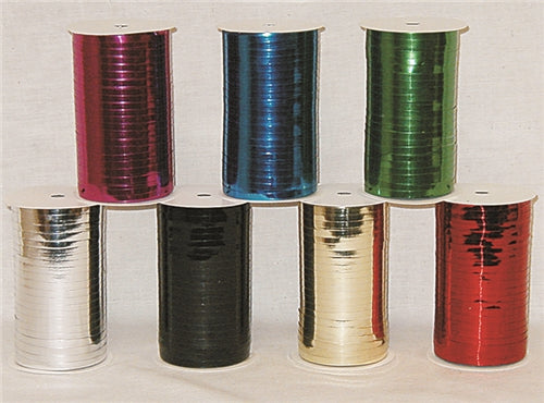 Metallic Ribbon - 3/16