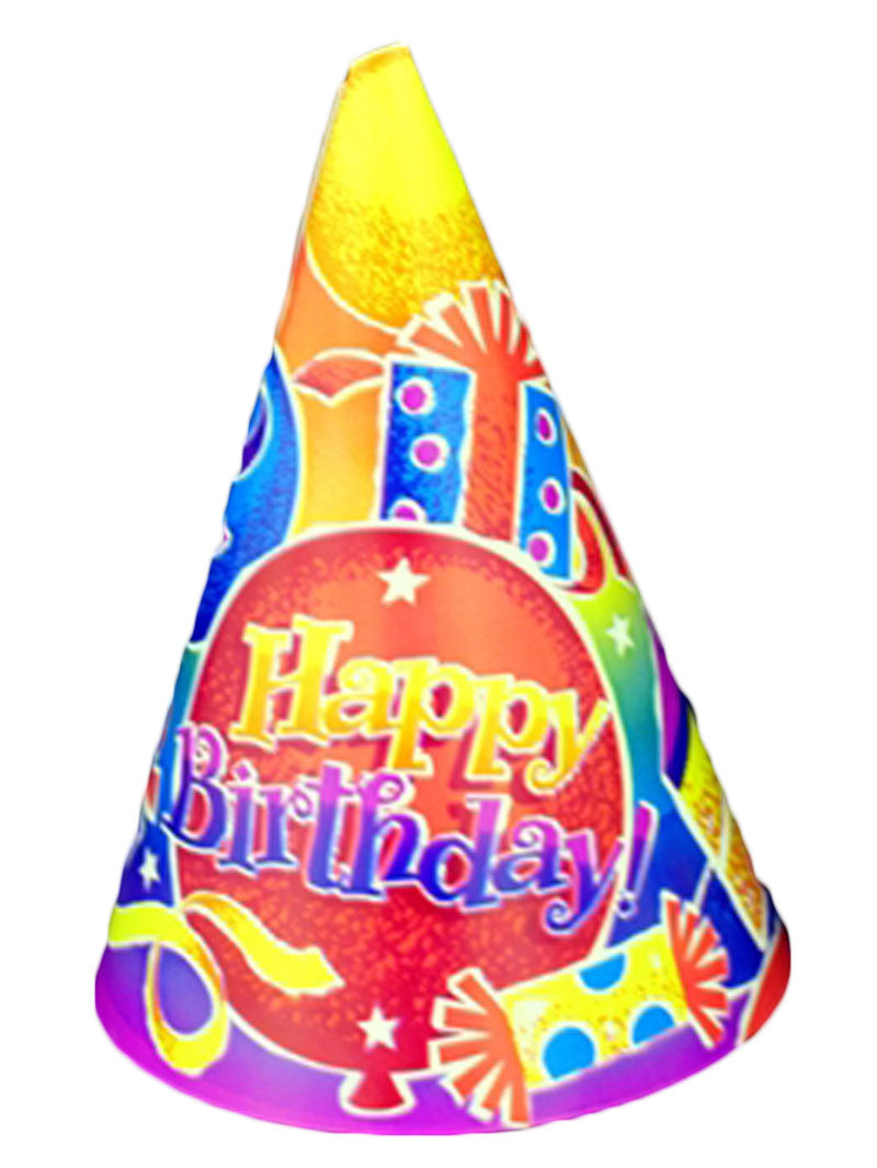Birthday Fun Party Hats - 250/Case