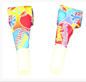 Birthday Fun Blowout Noisemaker - 100/Bag