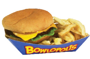 Bowlopolis Meal Boat