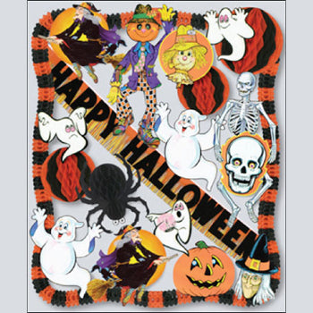 Halloween Decorating Kit - 1 Each