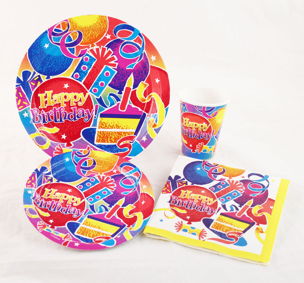 Birthday Fun Deluxe Kit for 250