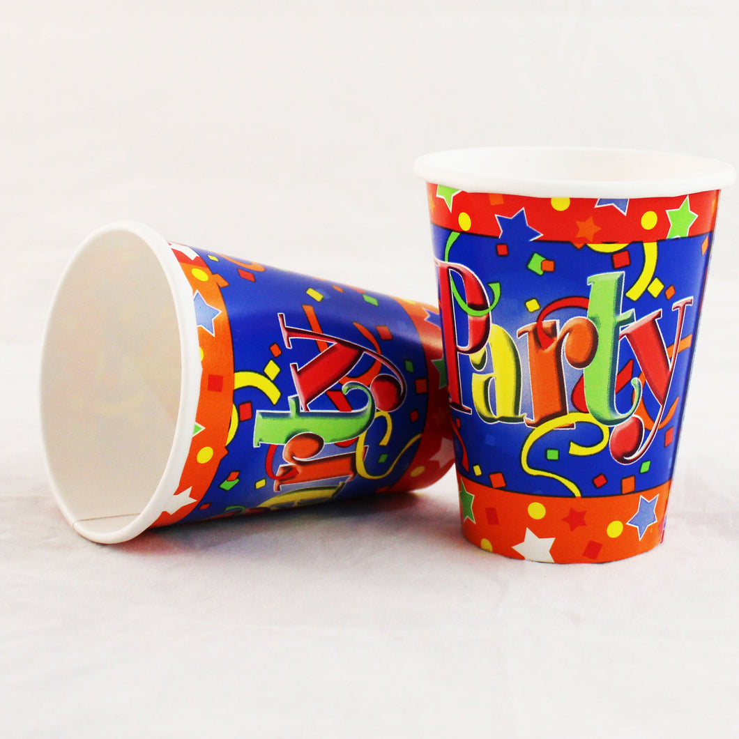 Just Party 9oz Cups - 500/Case