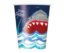 Load image into Gallery viewer, Shark 9oz Cups - 1 Pack (8 Cups) or 1 Unit (96 Cups)