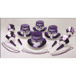 Purple Magic Party Kit for 50
